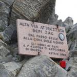 Alta via Bepi Zac