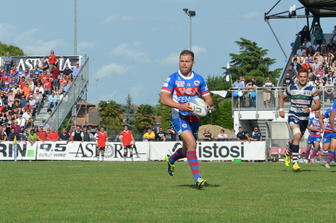 Tre squadre in testa al campionato d'eccellenza di rugby