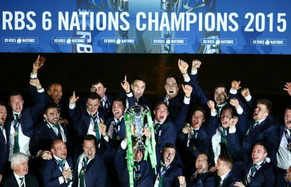 irlanda campione sei nazioni 2015