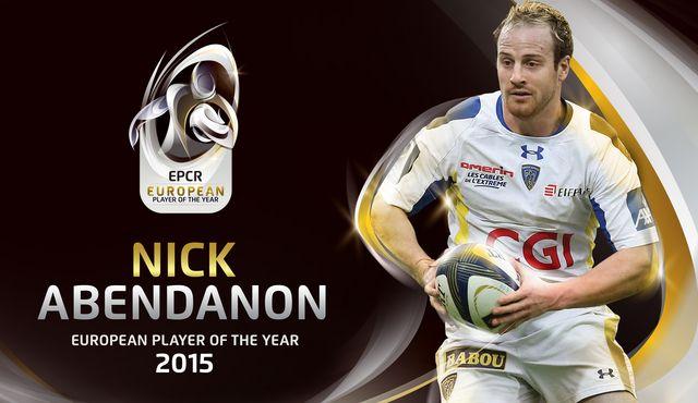 Nick Abendanon è European Player of the year 2015