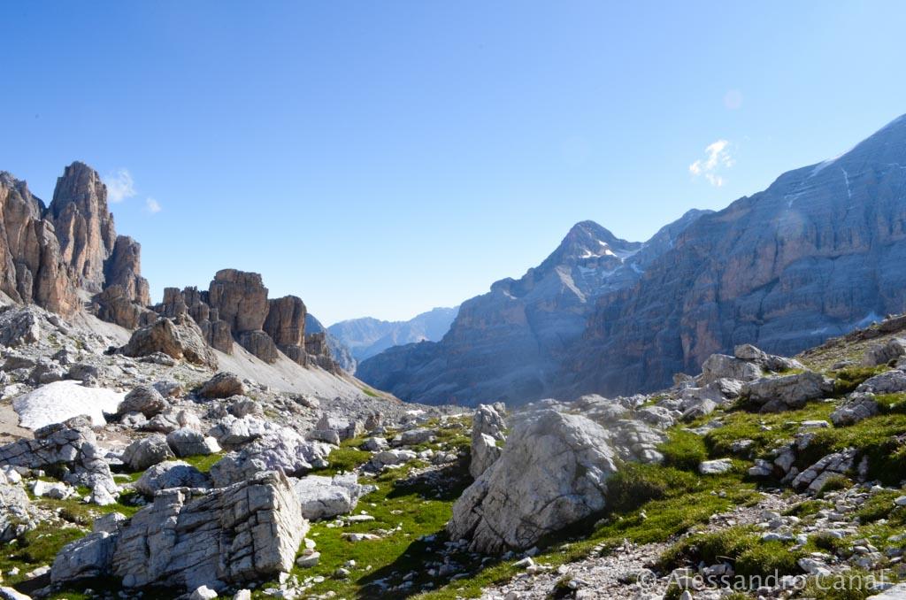 Alta Via 1, terza tappa: dal Rifugio Lagazuoi al Rifugio Nuvolau