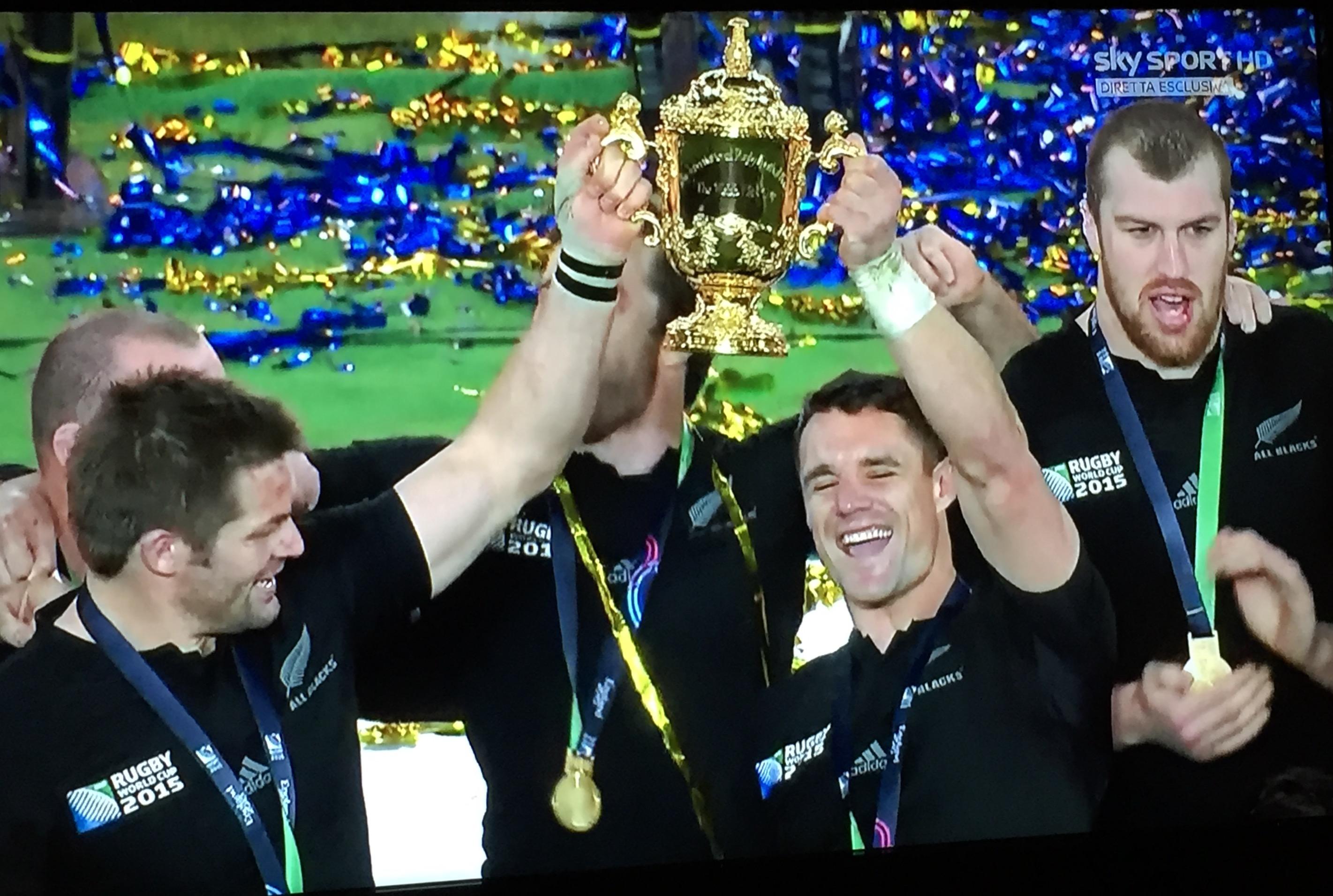 Gli All Blacks sono campioni del mondo per la terza volta