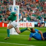 RWC 2015: l'Italia lotta ma vince l'Irlanda