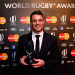 Dan Carter è World Rugby Player of the Year 2015