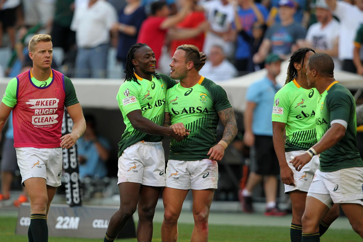 HSBC Sevens World Series: a Cape Town vince il Sud Africa
