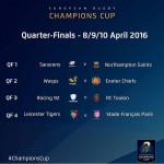 Ecco i quarti di European Champions Cup