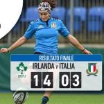 Sei Nazioni femminile 2016: l'Italia tiene testa all'Irlanda