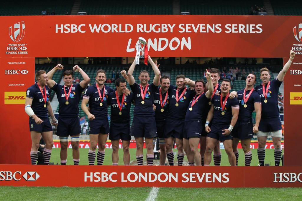 La Scozia Sevens vince a Londra
