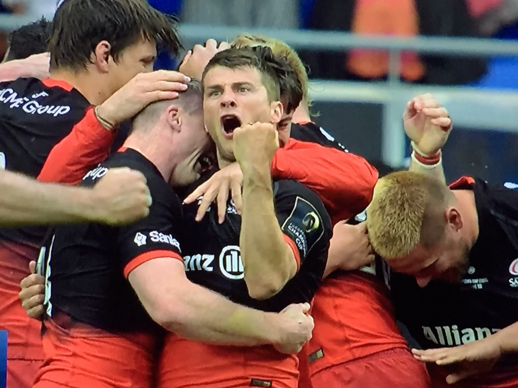 Saracens trionfano in European Champions CUp