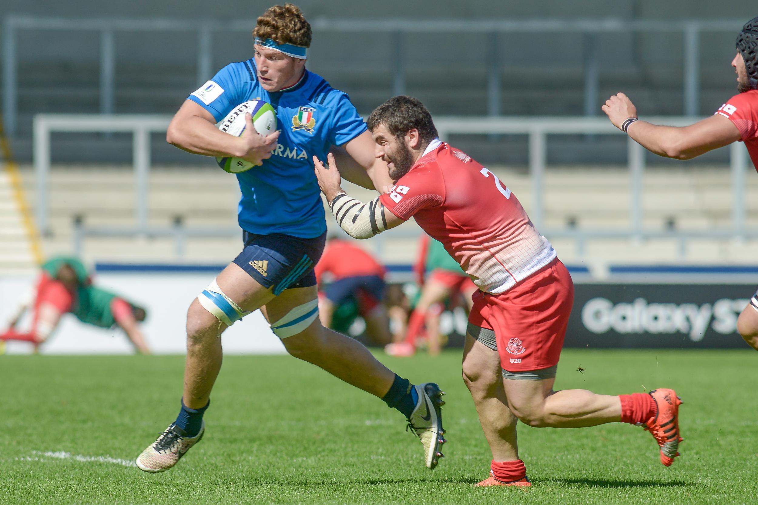 Georgia batte Italia nel World Rugby U20 championship