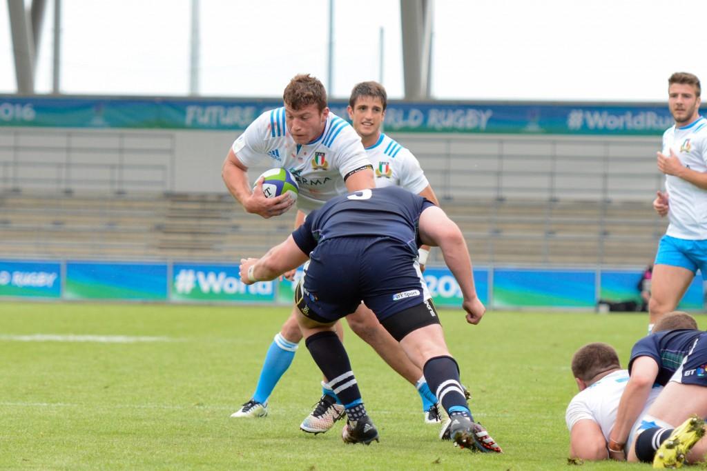 Italia v Scozia World Rugby U20 Championship