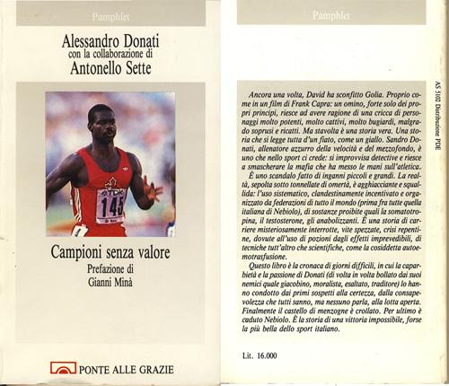 Sandro Donati - Campioni senza valori