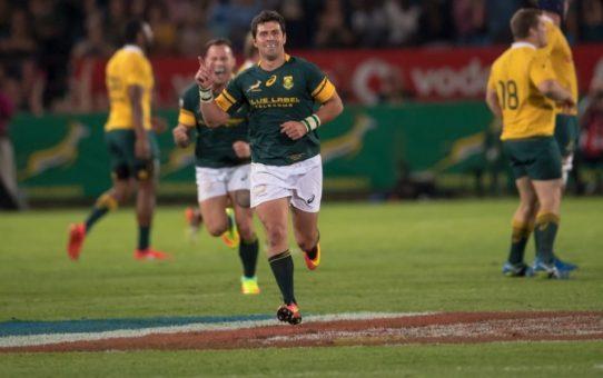 Rugby Championship 2016: gli Springboks battono l'Australia