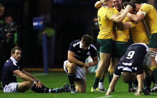Test Match: l'Australia beffa una bella Scozia