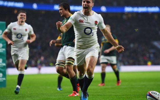 Test Match: l'Inghilterra supera nettamente gli Springboks