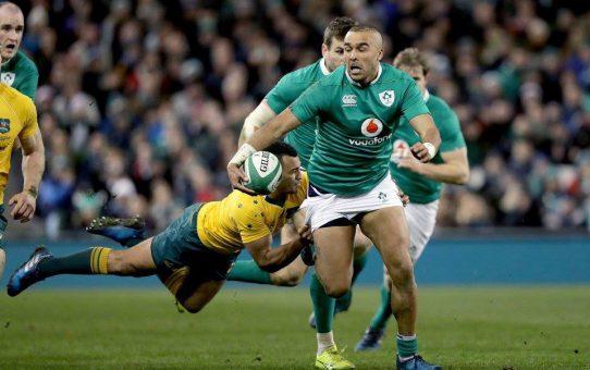 Test Match: l'Irlanda ferma l'Australia