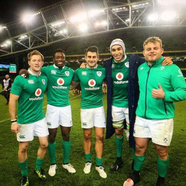 irlanda test match