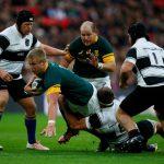I Barbarians spaventano gli Springboks