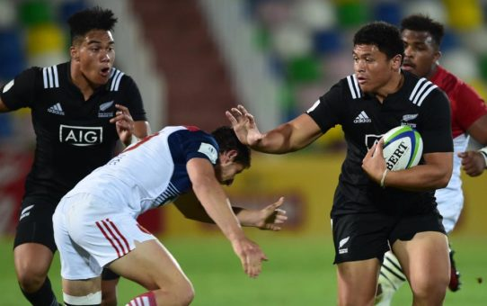 world rugby under 20 championship allblacks