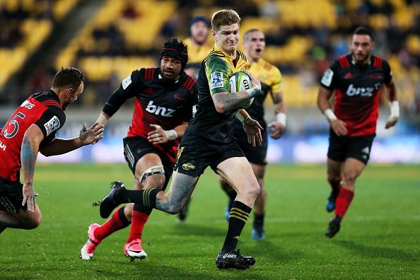 jordie barrett hurricanes super rugby 2017