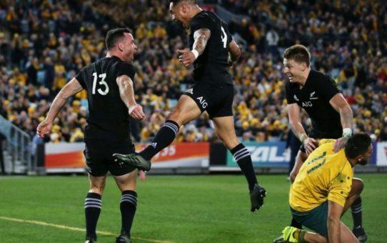 Agli All Blacks il primo match della Bledisloe Cup 2017