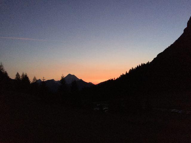 alba al Passo Duran