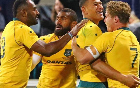 Rugby Championship 2017: l'Australia batte i Pumas