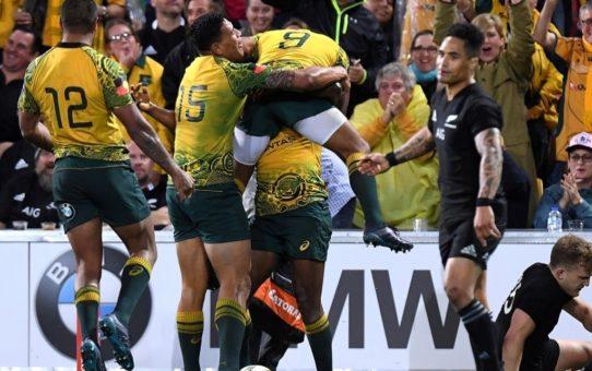 Bledisloe Cup: l'Australia batte gli All Blacks