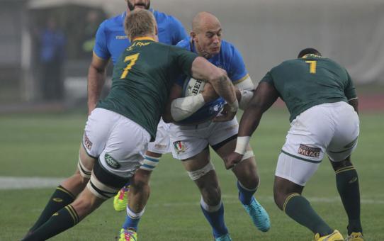 Test match: Italia chiude con una sconfitta con gli Springboks