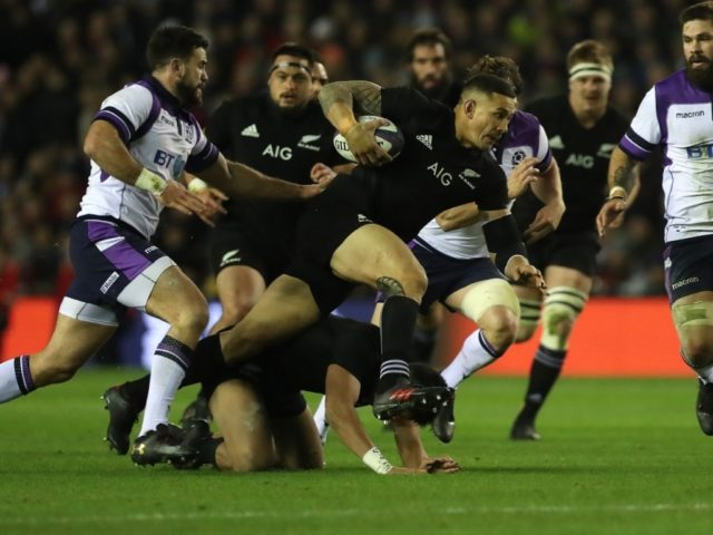 scozia-allblacks test match novembre 2017