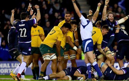 Test match: le belle prestazioni di Scozia e Giappone