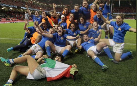 Sei Nazioni 2018 femminile: in Galles è trionfo Italia