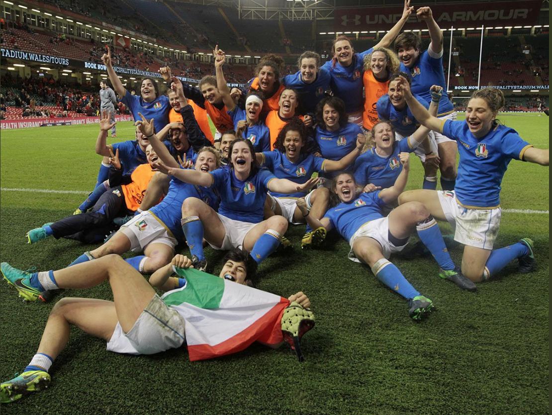 italia-femminile vittoria galles sei nazioni 2018