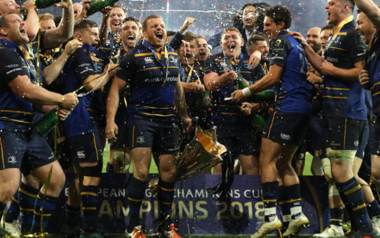Poker di Leinster in european Champions Cup