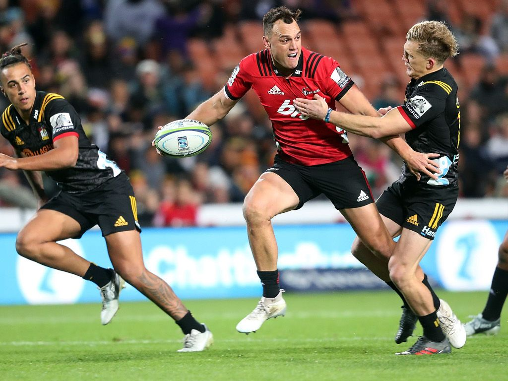 Israel Dagg Crusaders super rugby 2018