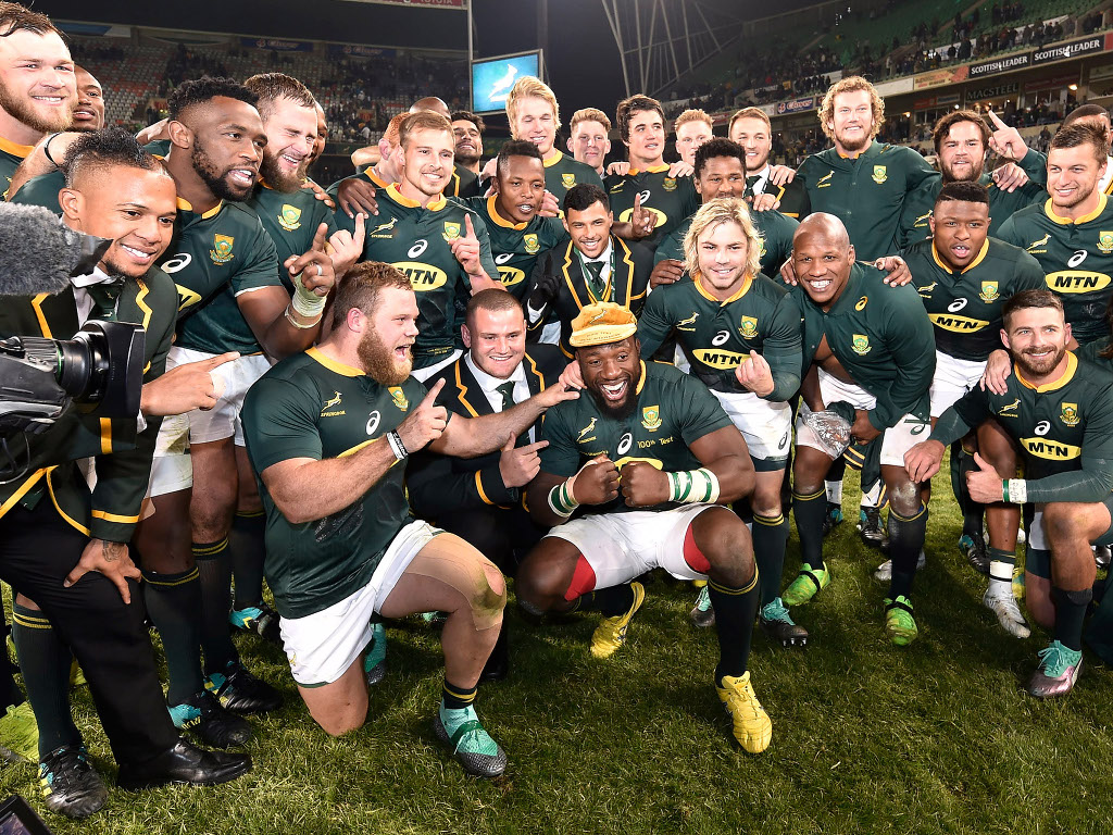 Springboks-inghilterra test match 2018 bloemfontain