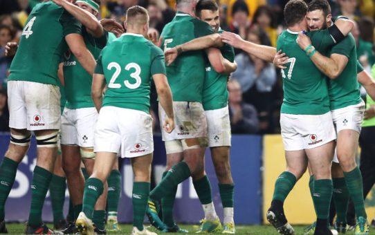 Test Match 2018: grande Irlanda in Australia