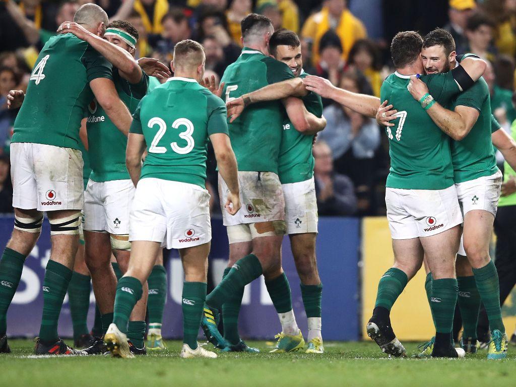 australia-irlanda test match 2018 sydney