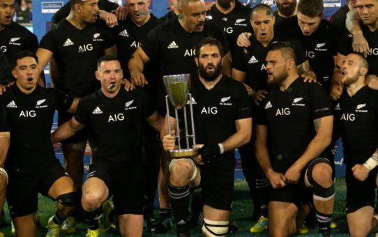 Gli All Blacks conquistano il Rugby Championship 2018