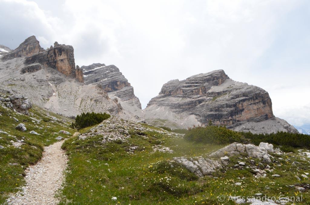 Alta Via 1, seconda tappa: dal Rifugio Pederù al Rifugio Lagazuoi