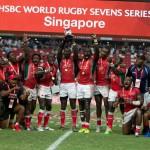 HSBC Sevens World Series: il Kenya fa la storia a Singapore