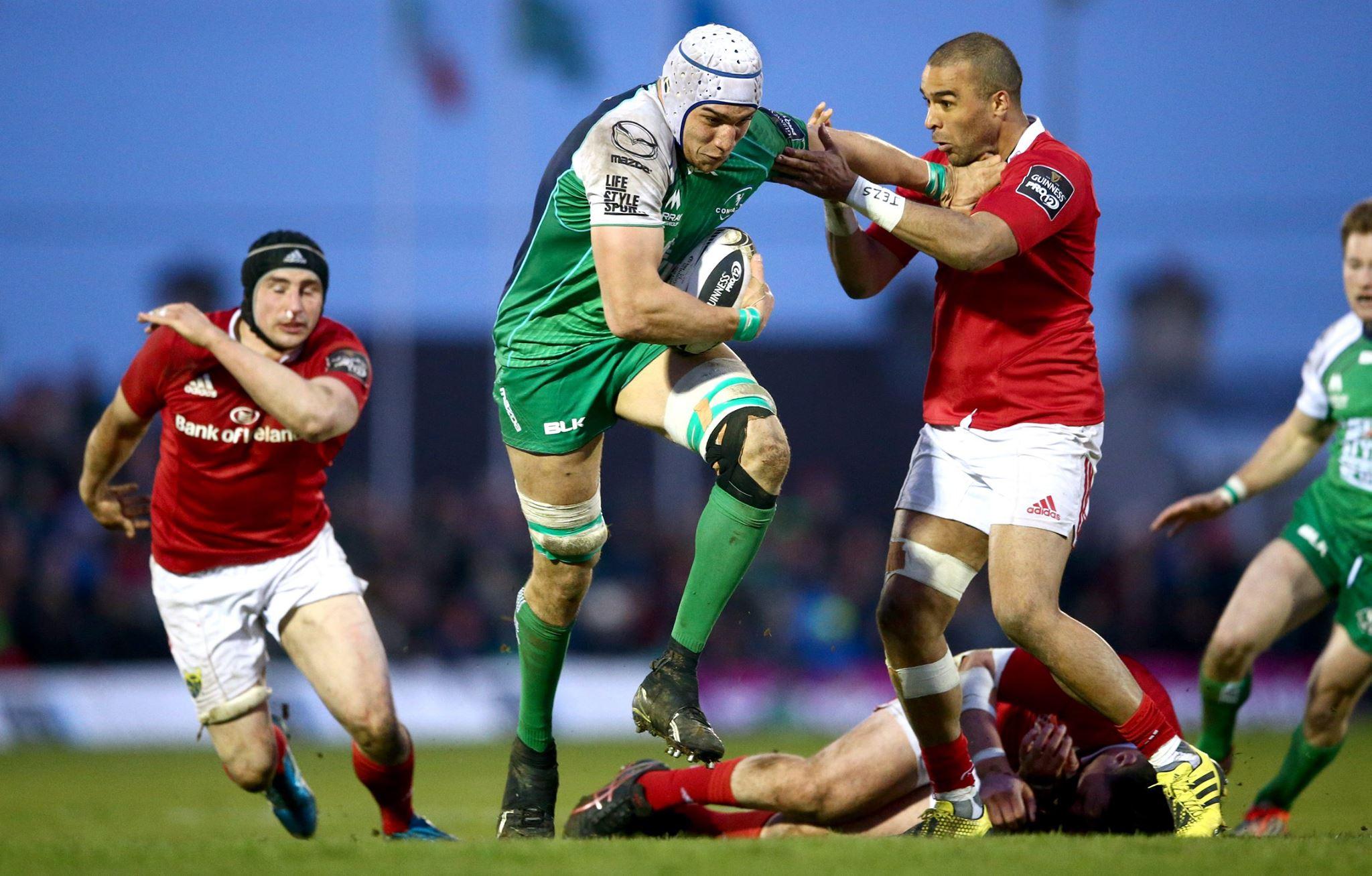 Guinness PRO12: in classifica volano Connacht e Leinster