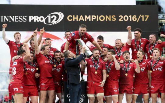 Gli Scarlets vincono la Guinness PRO12