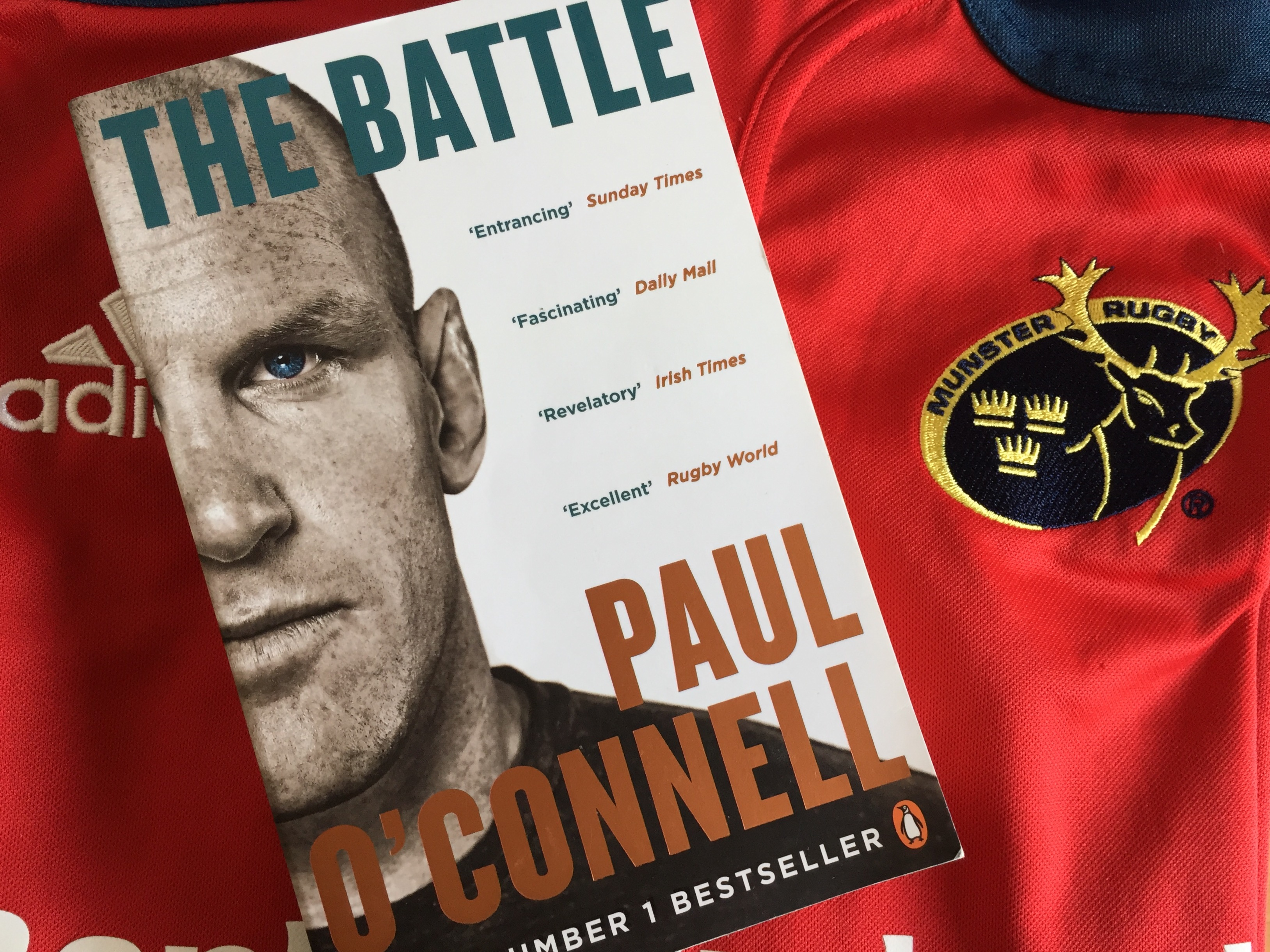 the battle paul o'connell