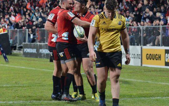 I Crusaders sono in finale di Super Rugby 2018