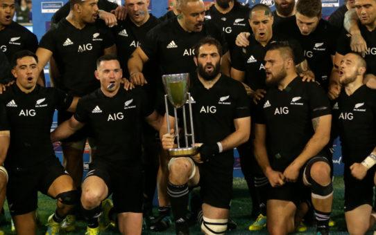 Gli All Blacks conquistano il Rugby Championship 2018