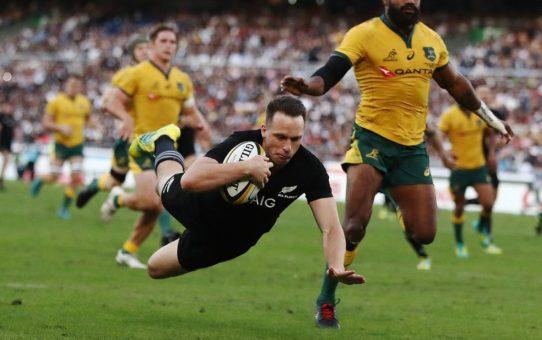 Bledisloe Cup 2018: troppo forti questi All Blacks per l'Australia
