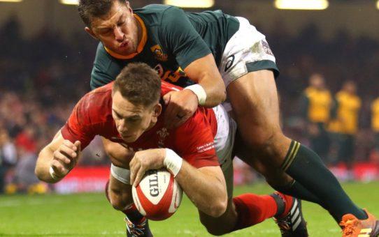 Test match 2018: poker del Galles, battuti anche gli Springboks