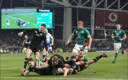 Test match 2018: il trionfo dell'Irlanda sugli All Blacks